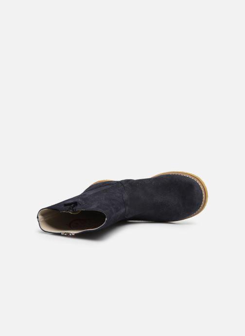 Bottes Shoesme Paulette Bleu vue gauche