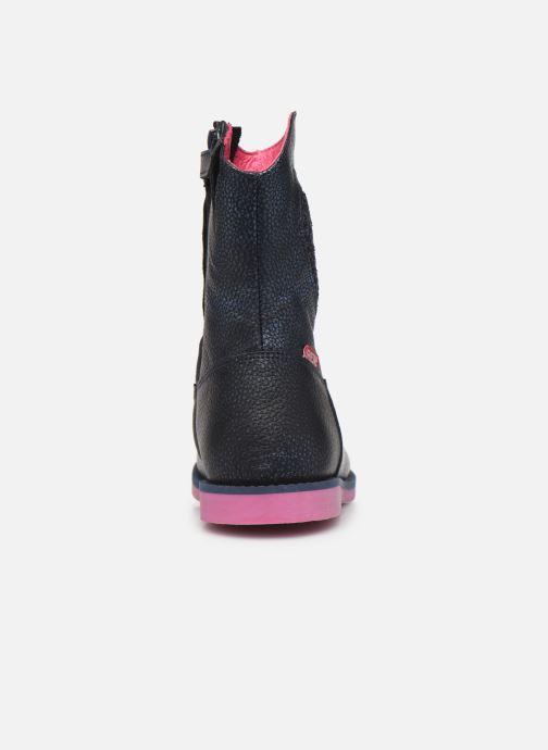 Bottes Shoesme Jennifer Bleu vue droite
