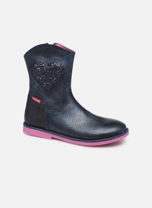 Bottes Shoesme Jennifer Bleu vue détail/paire