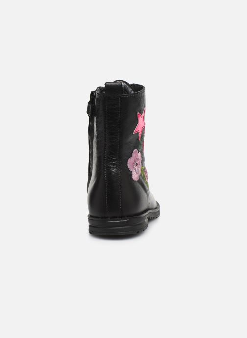 Botines  Shoesme Flora Negro vista lateral derecha
