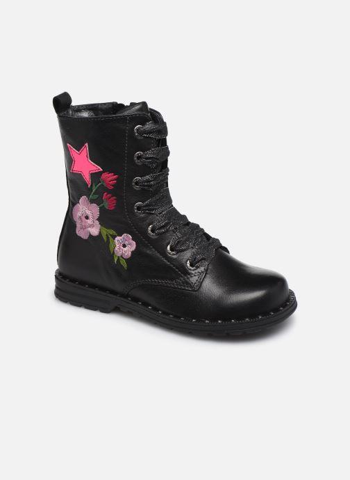 Botines  Shoesme Flora Negro vista de detalle / par