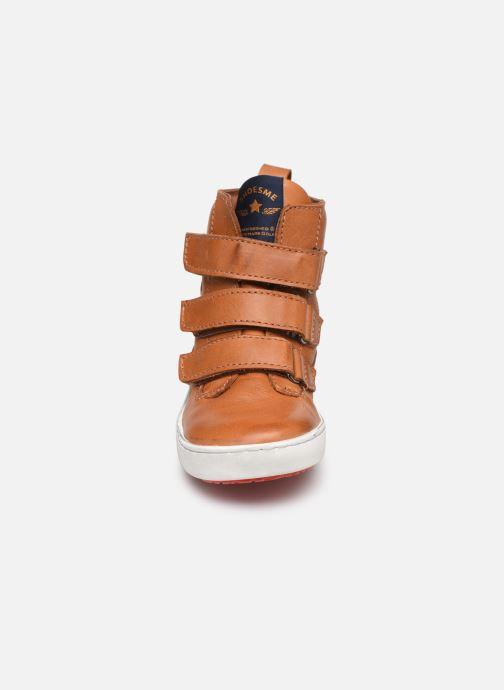 Bottines et boots Shoesme Benj Marron vue portées chaussures