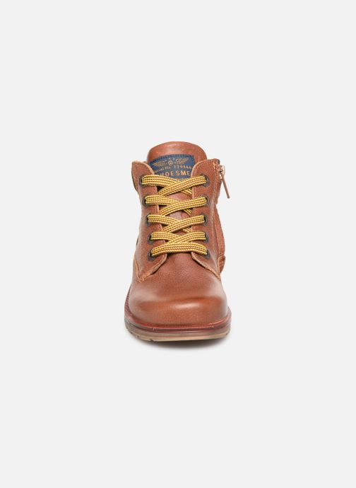 Ankle boots Shoesme Mateo Brown model view