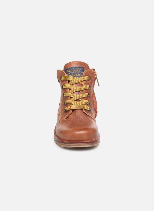Bottines et boots Shoesme Mateo Marron vue portées chaussures