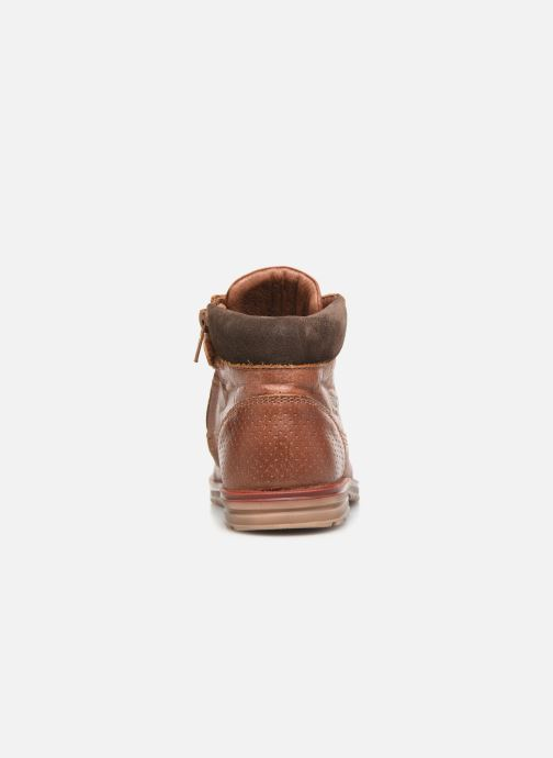 Ankle boots Shoesme Mateo Brown view from the right
