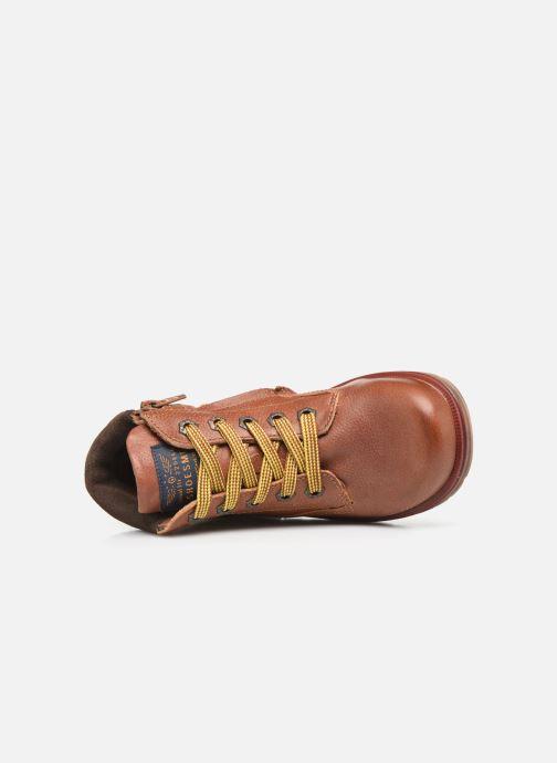 Bottines et boots Shoesme Mateo Marron vue gauche
