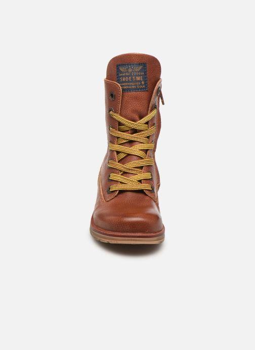 Boots en enkellaarsjes Shoesme Romi Bruin model