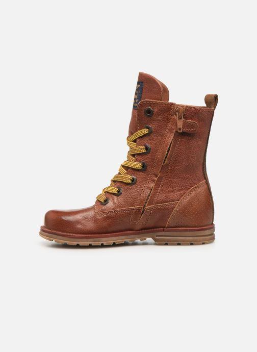 Boots en enkellaarsjes Shoesme Romi Bruin voorkant