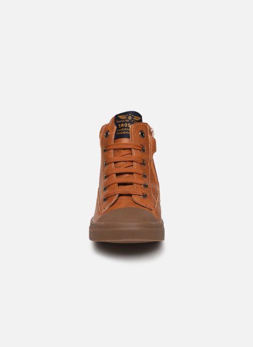 Bottines et boots Shoesme Toma Marron vue portées chaussures