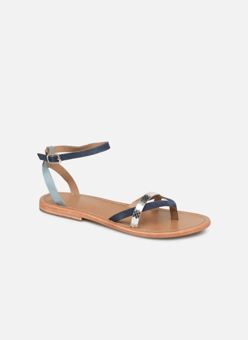 Sandals White Sun Zarucco Multicolor detailed view/ Pair view