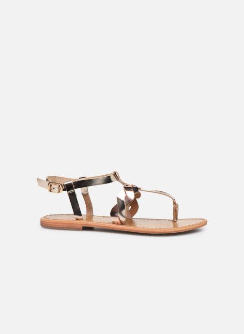 Sandali e scarpe aperte White Sun Marjorie Oro e bronzo immagine posteriore