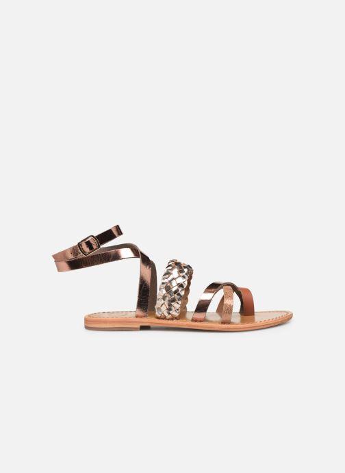 Sandali e scarpe aperte White Sun Colorata Oro e bronzo immagine posteriore