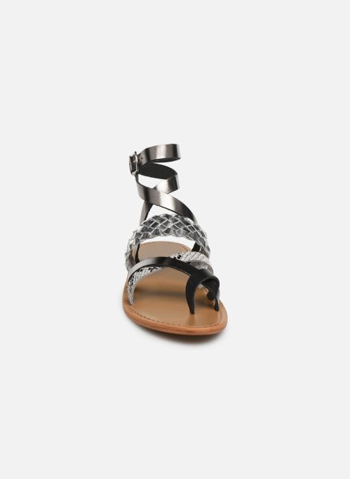 Sandales et nu-pieds White Sun Colorata Noir vue portées chaussures