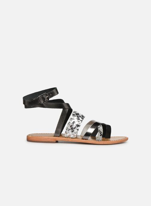 Sandales et nu-pieds White Sun Colorata Noir vue derrière