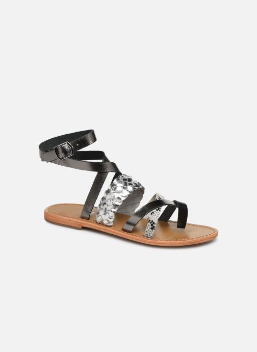 Sandales et nu-pieds White Sun Colorata Noir vue détail/paire