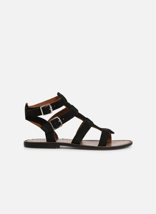 Sandales et nu-pieds White Sun Libertia Noir vue derrière
