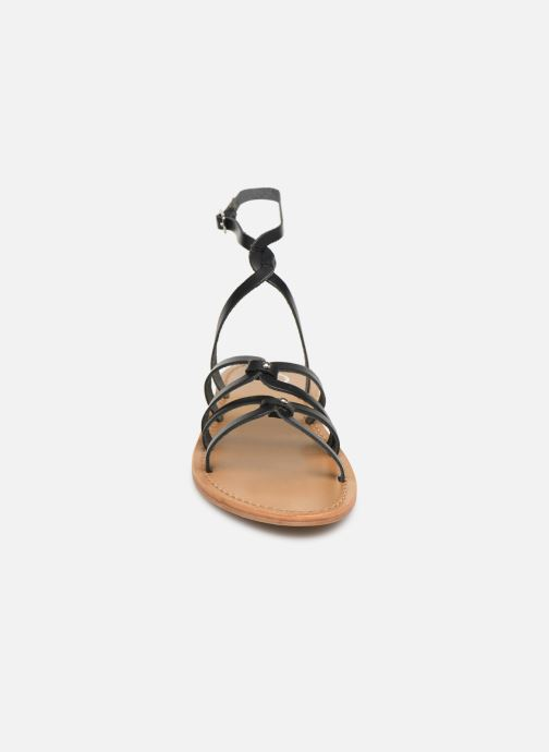 Sandali e scarpe aperte White Sun Viky Nero modello indossato