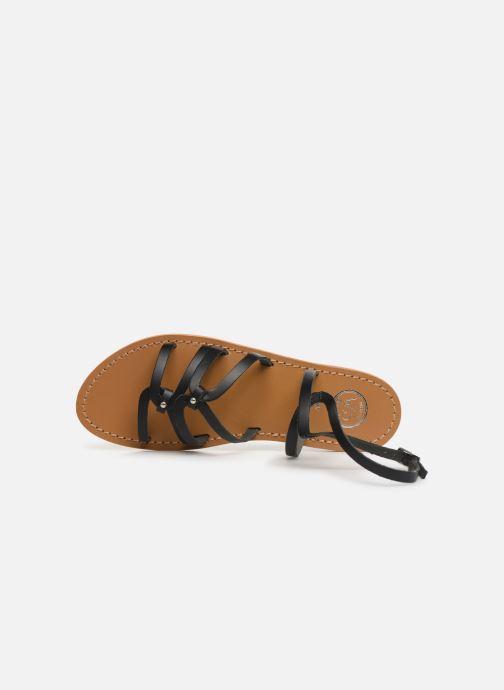 Sandali e scarpe aperte White Sun Viky Nero immagine sinistra