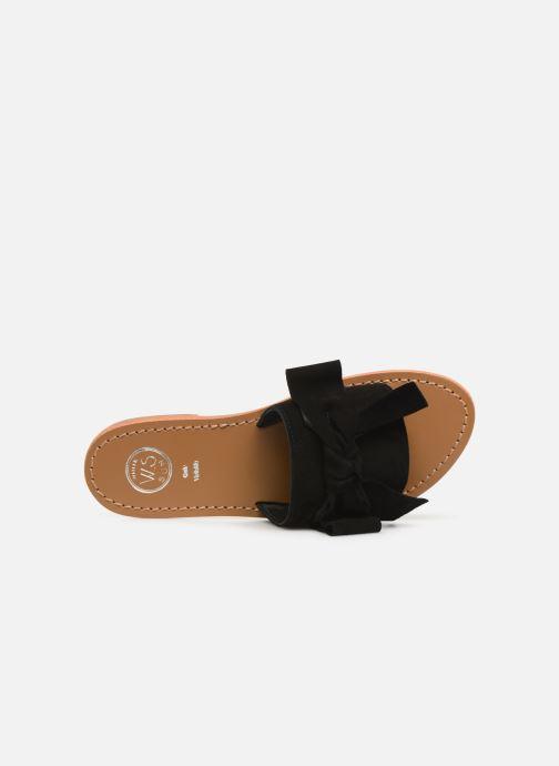 Clogs & Pantoletten White Sun Serpa schwarz ansicht von links