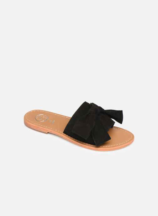 Clogs & Pantoletten White Sun Serpa schwarz detaillierte ansicht/modell