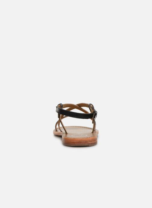 Sandales et nu-pieds White Sun Recife Noir vue droite