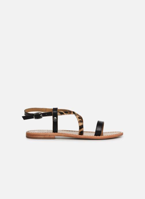 Sandales et nu-pieds White Sun Recife Noir vue derrière