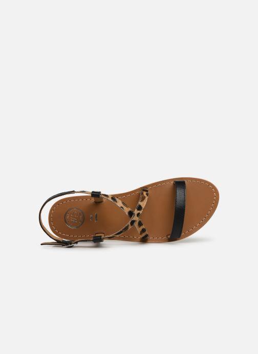 Sandales et nu-pieds White Sun Recife Noir vue gauche