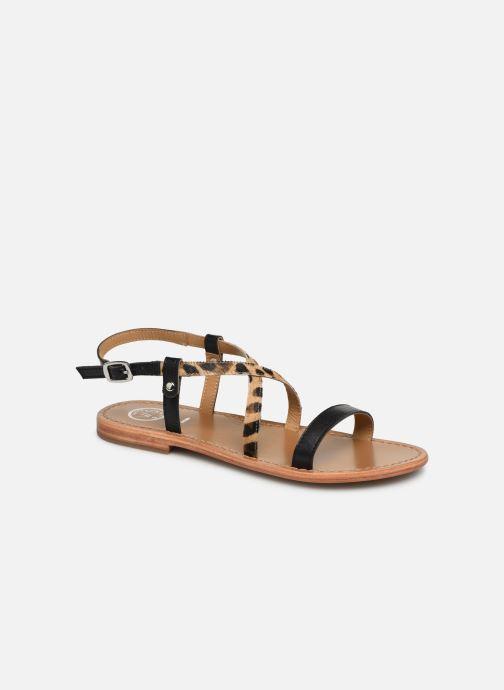 Sandales et nu-pieds White Sun Recife Noir vue détail/paire
