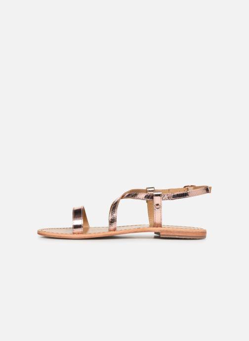 Sandales et nu-pieds White Sun Recife Rose vue face