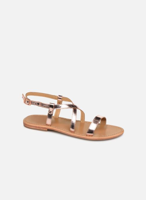 Sandals White Sun Recife Pink detailed view/ Pair view