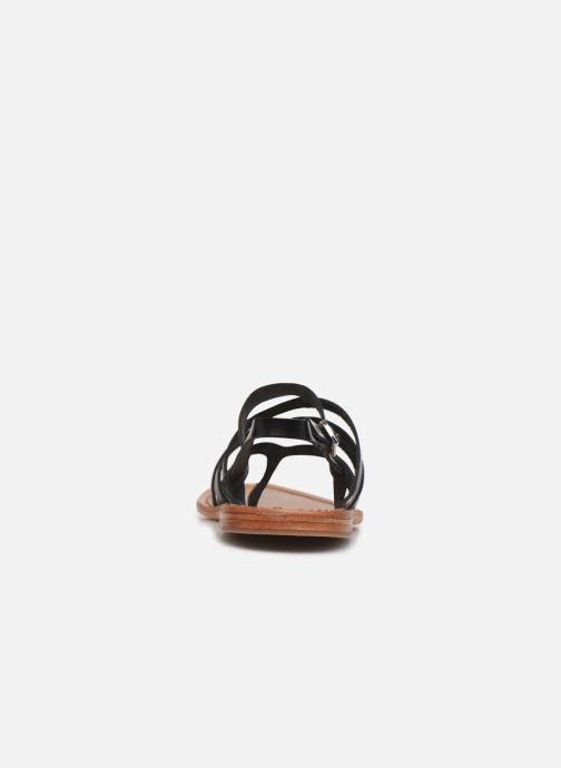 Sandali e scarpe aperte White Sun Paisty Nero immagine destra