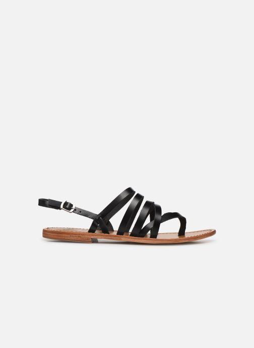 Sandales et nu-pieds White Sun Paisty Noir vue derrière