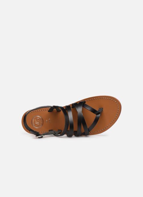 Sandali e scarpe aperte White Sun Paisty Nero immagine sinistra