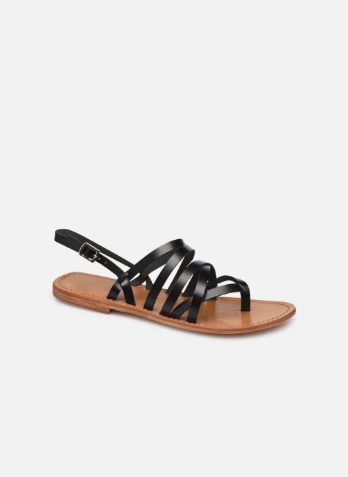 Sandales et nu-pieds White Sun Paisty Noir vue détail/paire