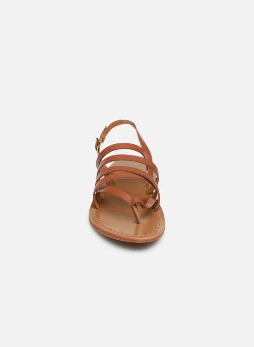 Sandales et nu-pieds White Sun Paisty Marron vue portées chaussures