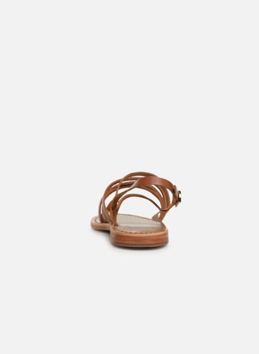 Sandales et nu-pieds White Sun Paisty Marron vue droite