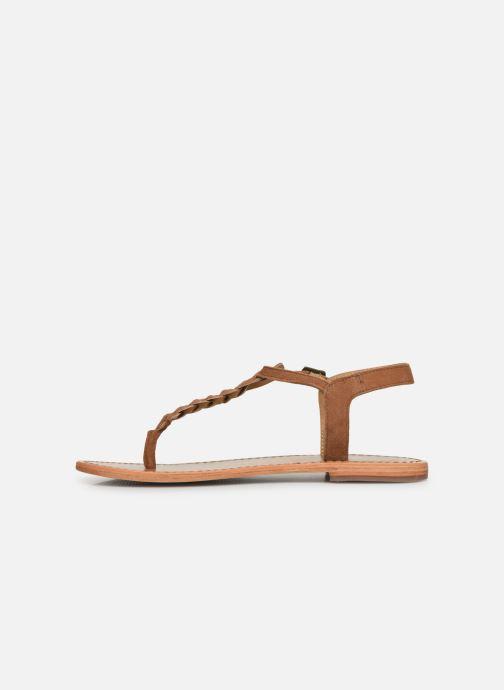 Sandales et nu-pieds White Sun Natal Marron vue face