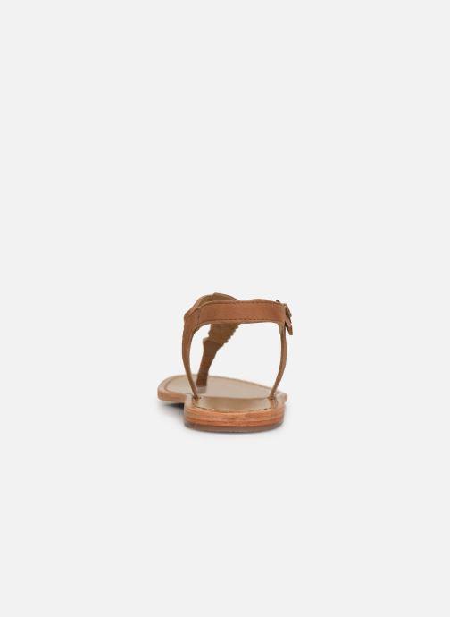 Sandales et nu-pieds White Sun Natal Marron vue droite