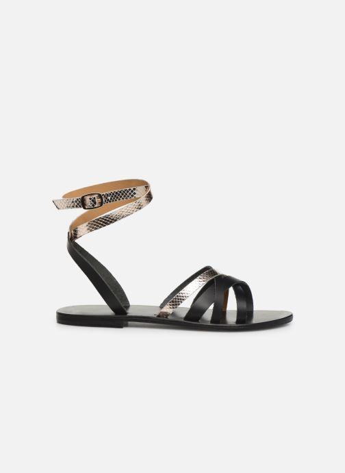 Sandales et nu-pieds White Sun Montgomery Noir vue derrière