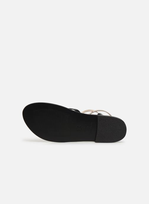 Sandales et nu-pieds White Sun Montgomery Noir vue haut