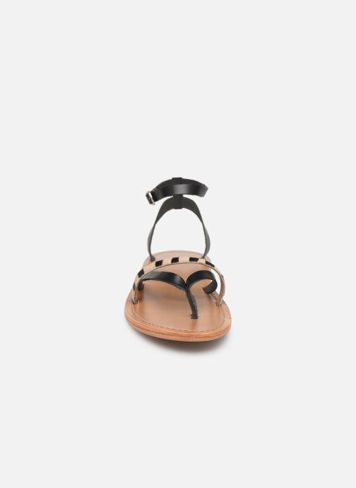 Sandales et nu-pieds White Sun Mitra Noir vue portées chaussures