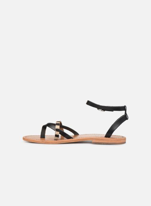 Sandales et nu-pieds White Sun Mitra Noir vue face