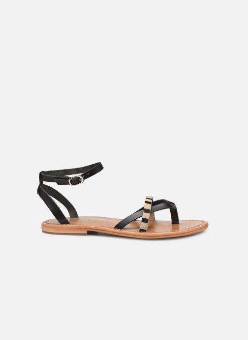 Sandales et nu-pieds White Sun Mitra Noir vue derrière
