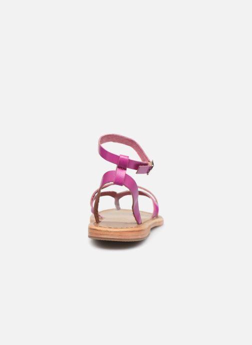 Sandali e scarpe aperte White Sun Mitra Rosa immagine destra