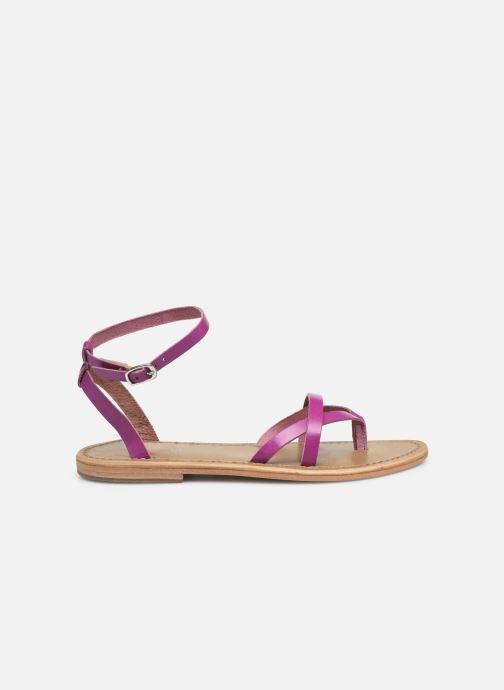 Sandali e scarpe aperte White Sun Mitra Rosa immagine posteriore