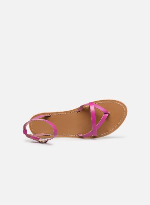 Sandali e scarpe aperte White Sun Mitra Rosa immagine sinistra