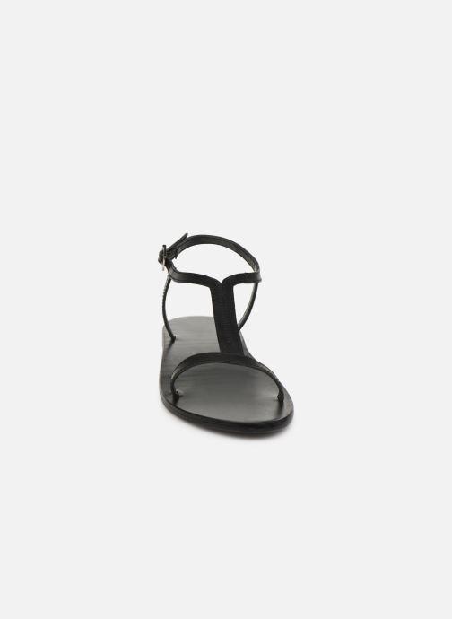 Sandali e scarpe aperte White Sun Miramar Nero modello indossato