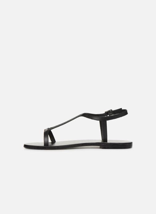 Sandali e scarpe aperte White Sun Miramar Nero immagine frontale