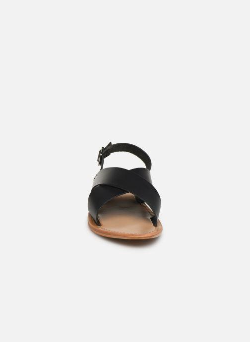 Sandals White Sun Macapa Black model view