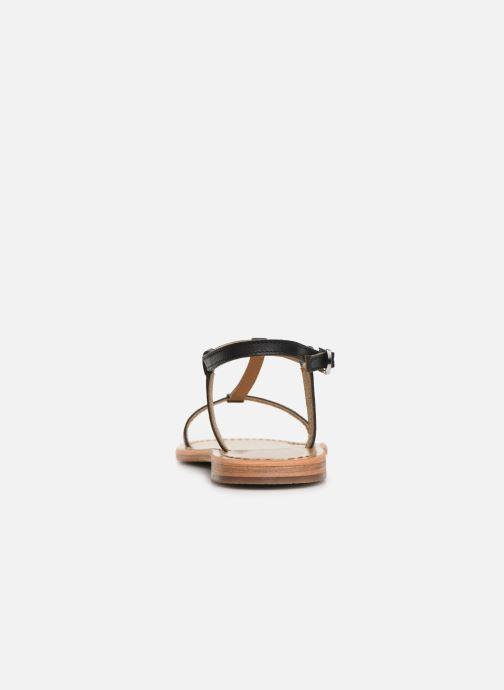 Sandales et nu-pieds White Sun Lagorn Noir vue droite